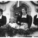 Fahnenweihe mit Fest 1952